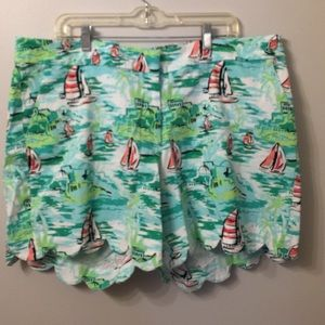(1791). Crown and Ivy shorts.  Size 20W